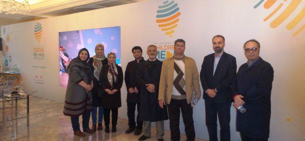 شرکت اعضای انجمن تخصصی کودک و رسانه در کنفرانس بین المللی رسانه کودکان ترکیه