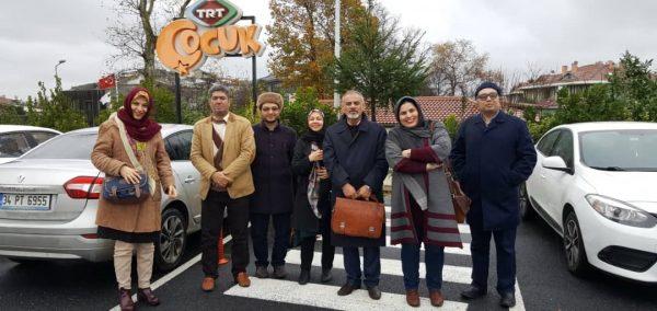 بازدید از شبکه ت رت چوجوک ترکیه TRT Çocuk