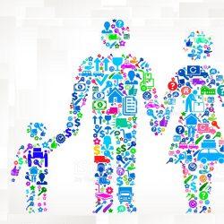 والدین الگوی مصرف دیجیتال کودکان